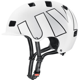 UVEX Hlmt 5 Bike Pro Helmet white-black matt